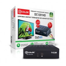 ТВ Приставка DColor DC1201HD