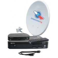 Комплект Триколор ТВ Full HD на 2 ТВ с установкой