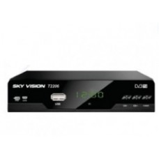 Эфирный DVB-T2 ресивер SkyVision 2206