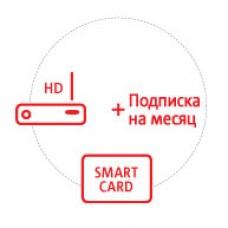 Комплект Интерактивного Спутникового ТВ МТС HD на месяц