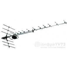 Антенна телевизионная наружная Дельта 1181А с усилителем