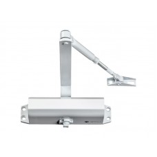 Дверной доводчик Optimus DCL-100 (белый/песочный/серебро)
